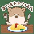 "Hamster Sticker only for ""Matsumoto"""