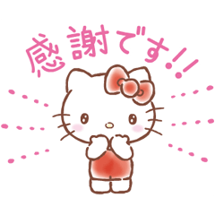 SANRIO CHARACTERS Greeting Stickers