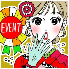 イベント多め♡白川さん