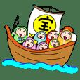 Blessing daruma-chan
