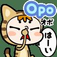 Tagalog & Japanese Tabby Cat Gummy