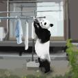ご機嫌パンダちゃん