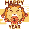 Leo - BluesBear New Year of the Ox