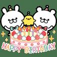 【背景が動く】定番☆お誕生日&お祝い