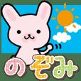 Ham-Usa for Nozomi