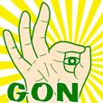 GONスタンプ