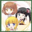 AnSliuM original anime sticker
