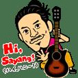 """""""HIROAKI KATO""""Sticker"""