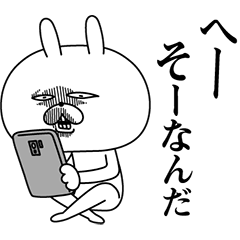 ウソつき★顔芸うさぎ【2019 嘘】