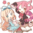 HONWAKA Alice Sticker 2