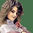 shop soltan flower (big sticker)