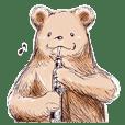 Musician Bear :-)