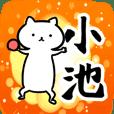 小池さん専用スタンプ(ネコ)