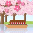 動く!桜・紅葉・花火で和を楽しもう♪