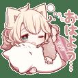 いつも眠たい猫さんスタンプ