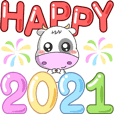 Happy New Year - Ox 2021