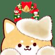 Our Shiba Inu 7 Winter Sticker