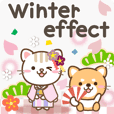 Natural cat, effect_winter english