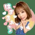 Mao Hamasaki Sticker
