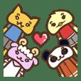 PI Rabbit's friends (HONG KONG)