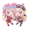 HIMEHINA Sticker#02