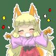 天狐ちゃんスタンプ
