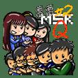 雷雷MsK #02【Q版日常】