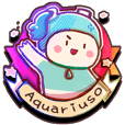 Aquariuso's funny daily life stickers