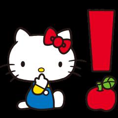 Hello Kitty(70年代畫風 動態貼圖)