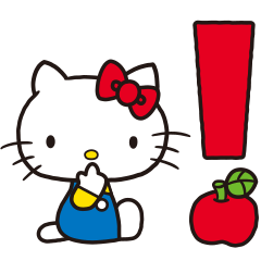 Hello Kitty(70年代畫風 動...