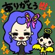 小悪魔ageha三姉妹のスタンプ!