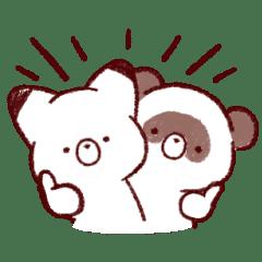 Tanuki and Fox Animated