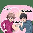 Genkikun and Komorikun