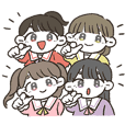 MomoiroCloverZ Official Sticker