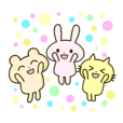 "The sticker of ""lovely animals"""