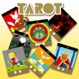 Tarot reading sticker