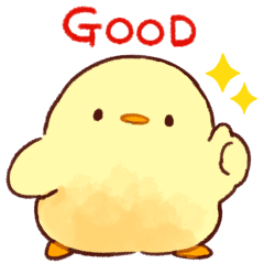 Soft and Cute Chick (Animated)