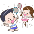 Badminton by Memee.