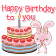 Rabbito (ta) : Happy Birthday 2019