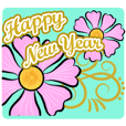 HAPPY NEW YEAR greeting encouragement
