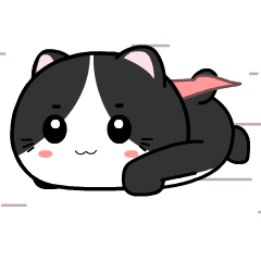 Baby tuxedo cat 2 : Pop-up stickers