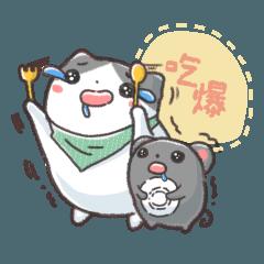 NAUGHTY BOBO CAT 2