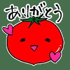 大ちゃんトマトの使えるスタンプ
