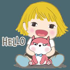 小柳丁女孩 9 與粉紅貓 ╴日常用語