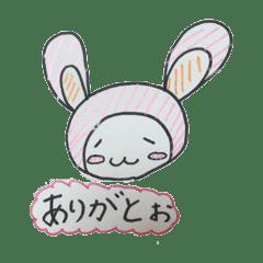 タレ目のウサギちゃん