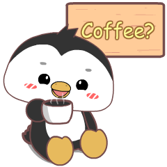 Cute penguin 3 : Pop-up stickers
