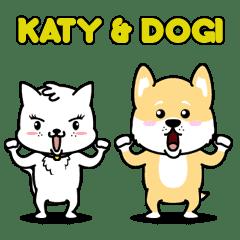 Katy and Dogi Animated