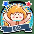 Leo personality stickers