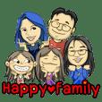 Happy family, I love you
