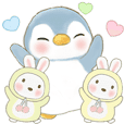 Soda penguin 7 :Soda and rabbits -daily